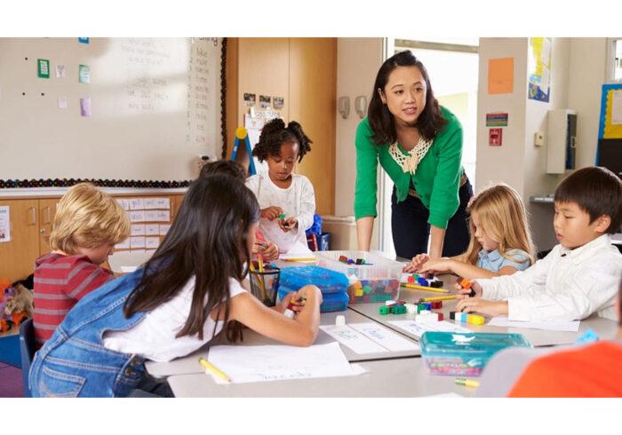 Math in bilingual program