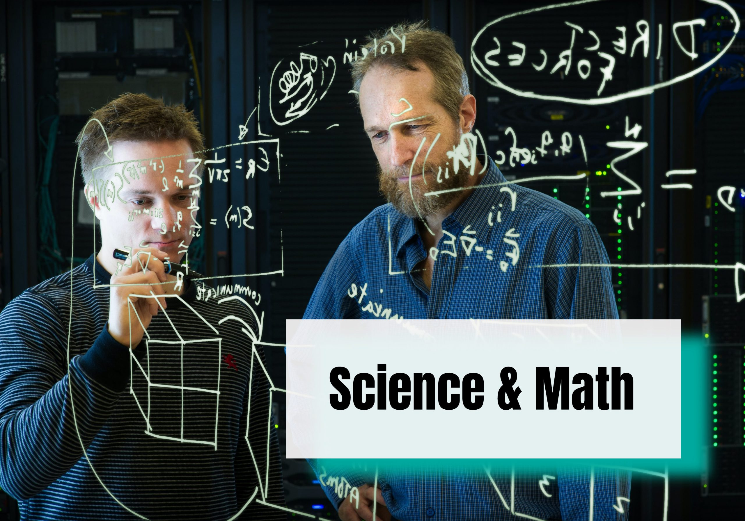 study Math and Science in English